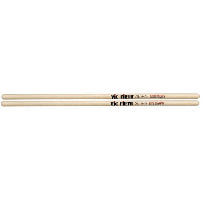 "Vic Firth Alex Acuña ""Clear Conquistador"""