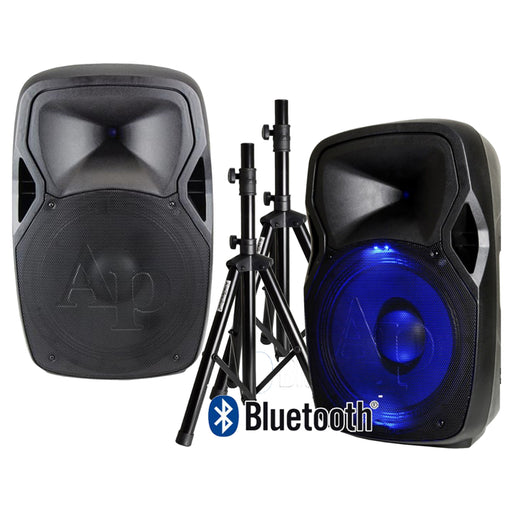"AUDIOPIPE 15"" SPEAKER COMBO (AVAILABLE FOR PICKUP AT STORE)"