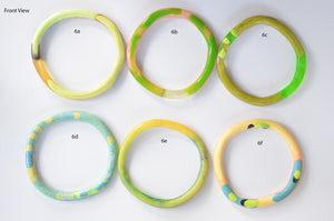 Organic Round Bangle - Medium Size - Multiple Options Available