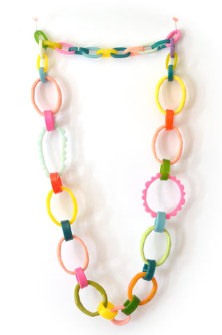 Frill Link Necklace-No.2