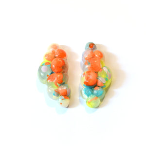Fat Bubble Cluster Studs