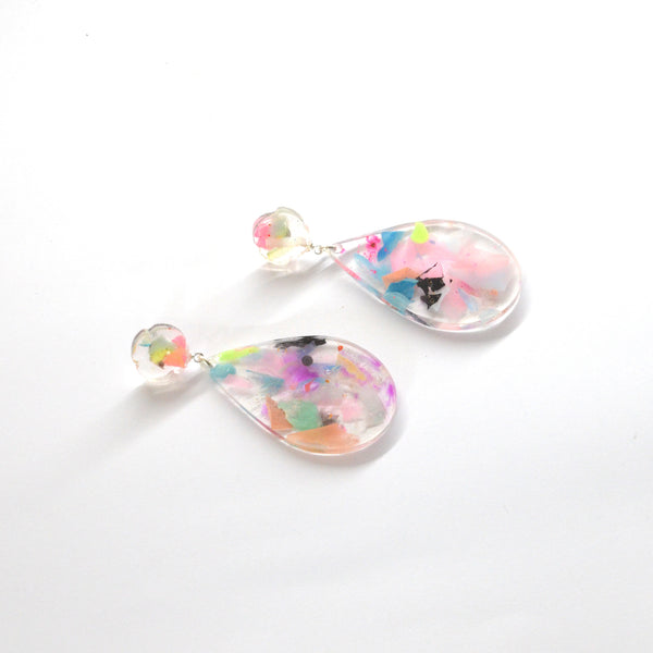 Collage Collection- Petal Pop Flower Top Tear Drop
