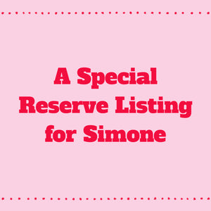 A Special Reserve Listing for Simone-Disk Drops-Sterling Silver Hooks