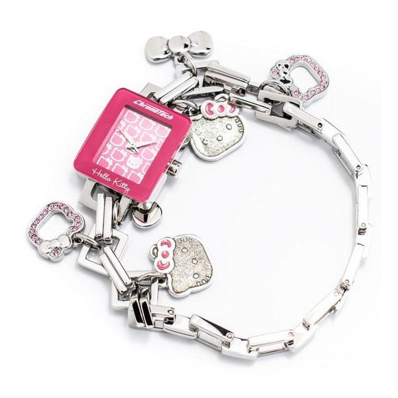Smykkeli Klokke for dame Hello Kitty Chronotech CT6323L-13M