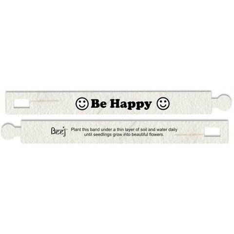 Seed Paper Wristbands - (Pack of 5)