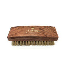 Load image into Gallery viewer, Saphir Medialle d'or Boar Bristle Shoe Brush 12cm