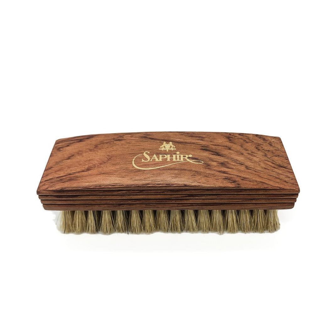 Saphir Medialle d'or Boar Bristle Shoe Brush 12cm