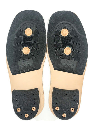 Dr Sole 1/2 Sole & Heel Blocks w/Leather Midsole