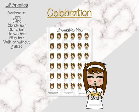 Lil' Squad Celebration (Customizable) - Lil' Annabelle's Plans