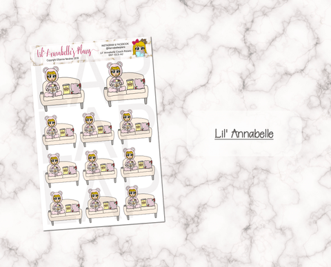 Couch Potato (Customizable) - Lil' Annabelle's Plans