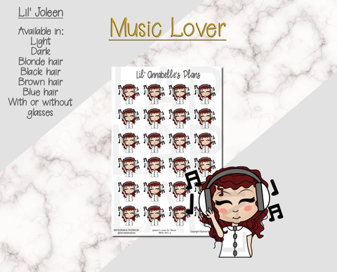 Lil' Squad Music Lover (Customizable) - Lil' Annabelle's Plans