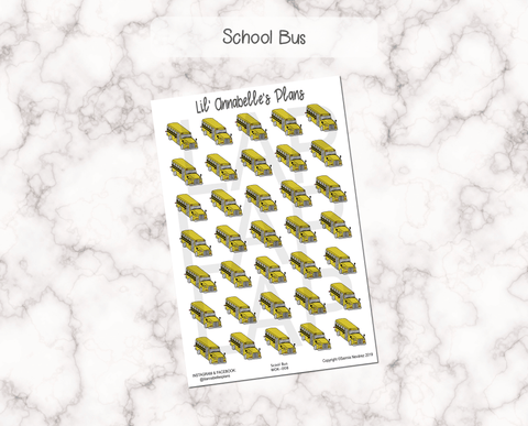 School Bus - Lil' Annabelle's Plans