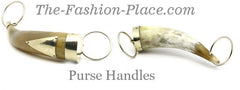 Horn Handles for handbags wholesale