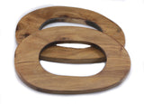 Handle handbag wood oval 113
