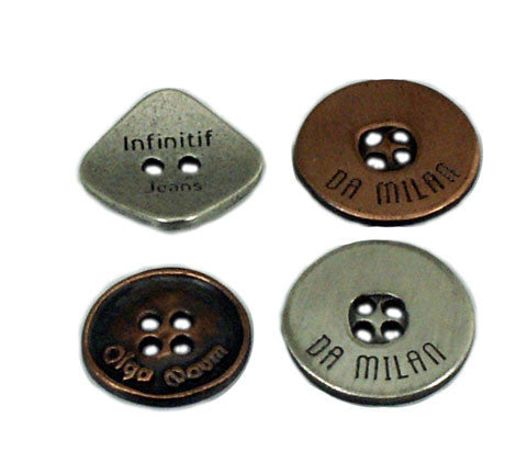 custom metal button