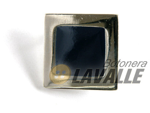 Brooch square enamel 649