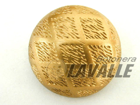 Button shank back attachment gold dull 10100