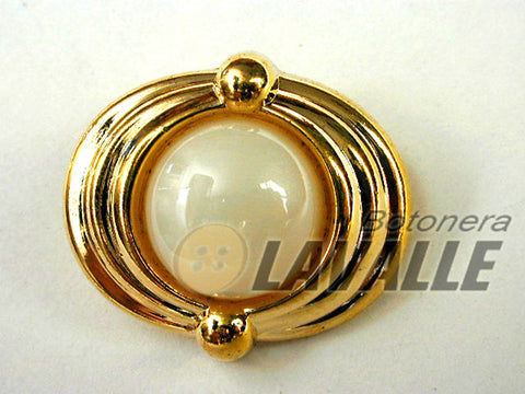 Button shank back attachment oval 11300