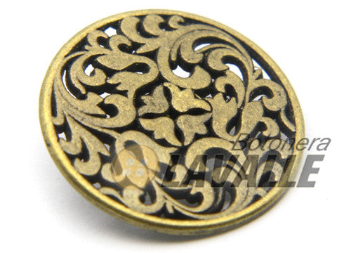Button carved openwork 933