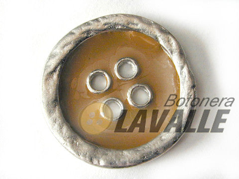 Button enamel eyelet c163