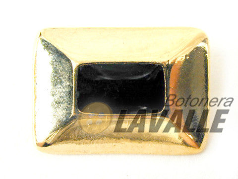 Button enamel rectangular c428