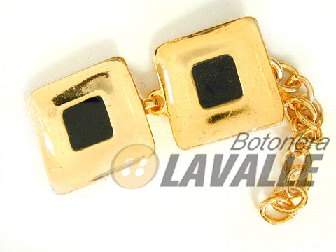 Button enamel square c473