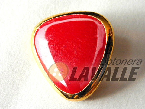 Button enamel triangle c155