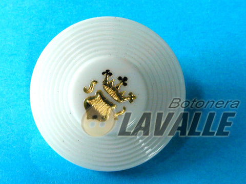 Button fancy shield 24800