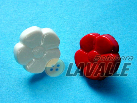 Button flower shank back attachment 7007