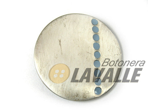 Button rounded enamel 679