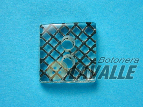 Button square eyelet 82200