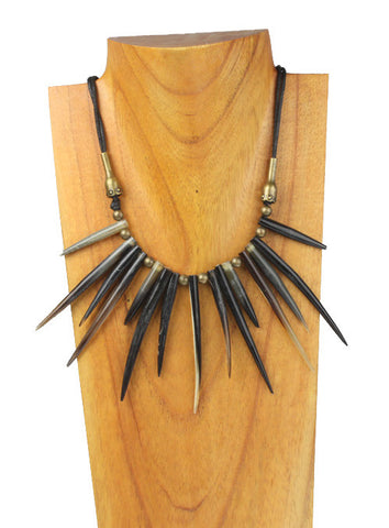 Medium Spike Collar Neck. HNE_312
