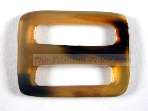 Horn buckle rectangular