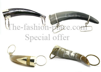 special set of horn handles for handbags