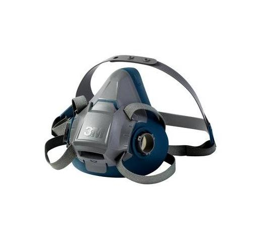 3m 7500 series half mask respirator medium