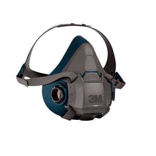3M 6501 Half Mask Respirator Small Rugged Comfort