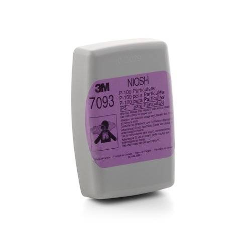 3M 7093 P100 Respirator Cartridge