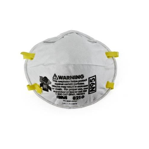 3M 8210 N95 Disposable Respirator