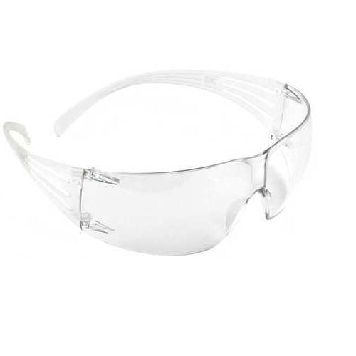 3M SF201AS 3M SecureFit Safety Glasses Clear Anti-Scratch Lens