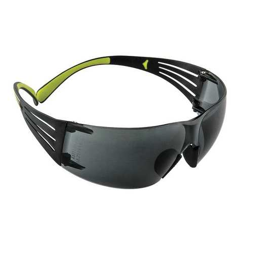 3M SF402AF 3M SecureFit Safety Glasses Gray Anti-Fog Lens