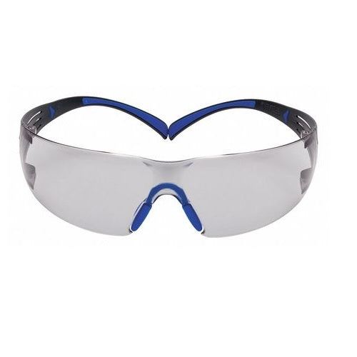 3M SF407SGAF-Blue SecureFit 3M Safety Glasses ScotchGard I/O Lens Anti-Fog