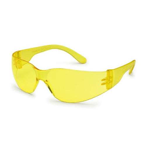 Gateway 4675 StarLite Safety Glasses Amber Anti-Scratch Lens