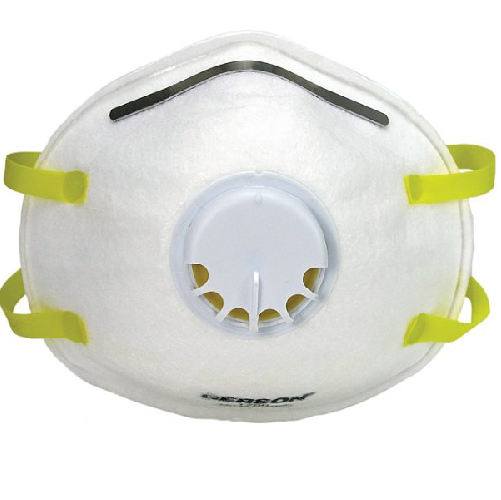 Gerson 1740 Low Profile N95 Disposable Respirator with Valve