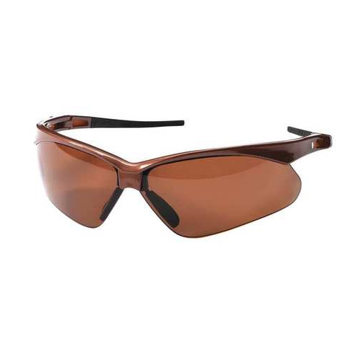 Jackson 28637 Nemesis V30 Polarized Brown Lens Scratch Resistant Brown Frame