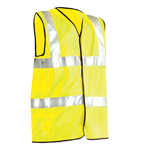 Occunomix LUX-SSFULLG Class 2 Solid Dual Stripe Safety Vests