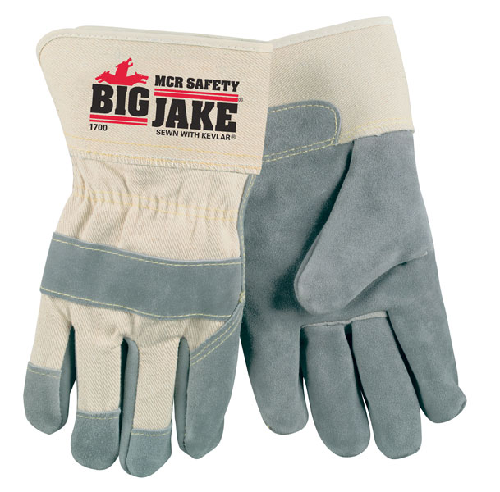 MCR 1700 Big Jake Leather Palm Gloves
