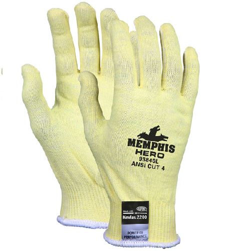 MCR 93840 Memphis Hero Cut Resistant Gloves Uncoated
