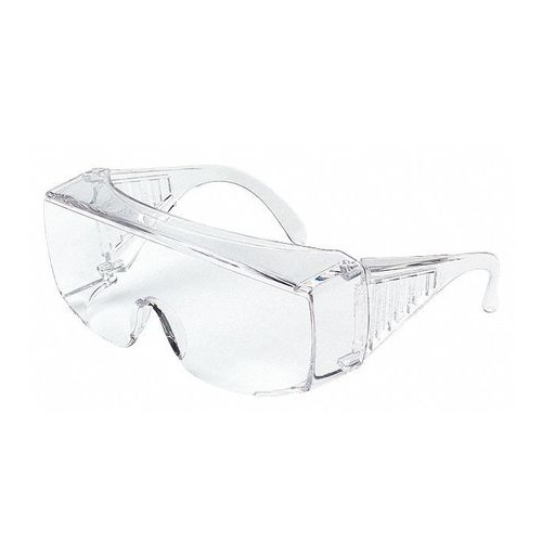 MCR 9800 Yukon Safety Glasses Clear Uncoated Lens