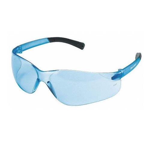 MCR BK113 BearKat Safety Glasses Light Blue Scratch Resistant Lens