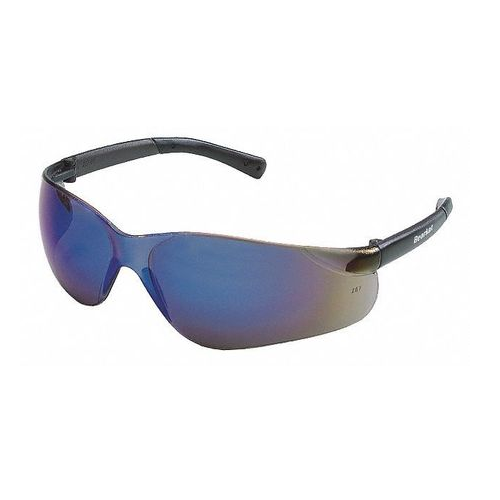 MCR BK118 BearKat Safety Glasses Blue Mirror Scratch Resistant Lens